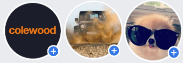 3 Facebook profile pictures in a row